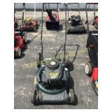 Yard man push mower