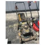Yard man push mower w/bag
