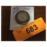1998s Proof Nickel