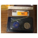 1973-s Ike Silver 40% Dollar
