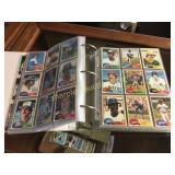 1981 Topps Baseball Near-set 687/726 w/HOF