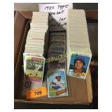 1980 Topps Baseball Set w/dupes