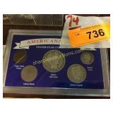 Americana Barber Coin Set