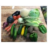 Assortment of vegetables & fruit