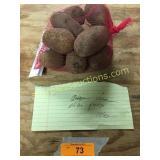 White potatoes, approx 2.5 lbs.