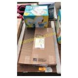 Pampers diapers, toilet seat