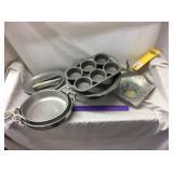 (7) Metal Items, Pots, Bowls & More