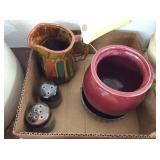 S&P Shakers & (3) Ceramic Pieces