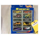 Hotwheels Die-Cast 10 Car Gift Pack NIB