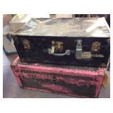(2) vintage foot locker