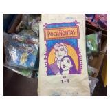 Burger King Pocahontas & Rug rat Toys