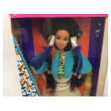 2nd Edition Native American Barbie NIB