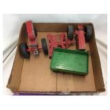 Metal Tractors & Implements