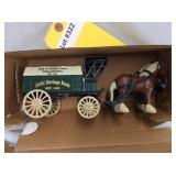 Horse & Delivery Wagon Bank