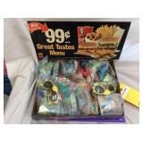 Burger King Toys & Sign