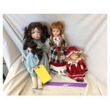 (3) Dolls