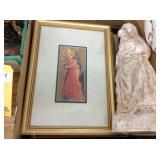 Religious Pictures & Statue