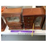 (2) Jewelry Boxes