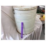 Metal Flour Storage Can