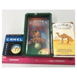 Camel Game, Ashtray & Matches