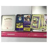 (2) Camel Tins