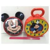 (2) Mickey Mouse Items