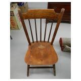 (4) Wood Chairs