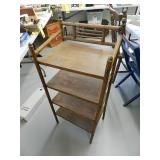 4 Shelf wood Shelves