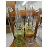 (2) Oil Lamps