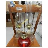 (3) Oil Lamps