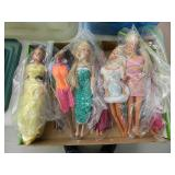 (2) Boxes of Asst. Barbi Dolls & Accessories