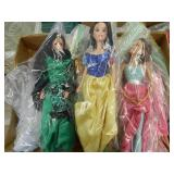 (2) Boxes Asst. Dolls & Accessories