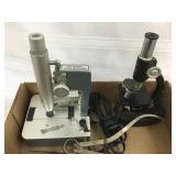 (2) Microscopes