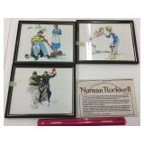 Norman Rockwell Book & Lithographs