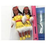 (2) Small Native American Dolls