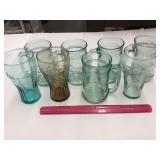 (8) Coca-Cola Glasses