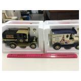 (6) Die-cast Truck Banks