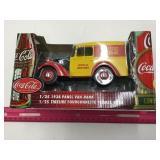 Coca-Cola Panel Van 1:25