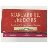 Standard Oil Checker Set