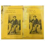 Low Down On Calamity Jane Pamphlets