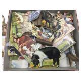 Cardboard Animals & Stands