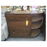 "(3) Drawer, (3) Shelf Cabinet 48""x37""x16"""