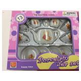 (2) 13pc. Porcelain Tea Set