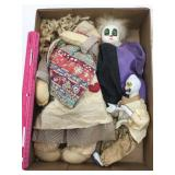 (2) Boxes of Asst. Dolls
