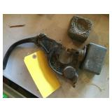Vintage rivet tool & lead