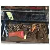 CRAFTSMAN tool box w/ Asst. tools
