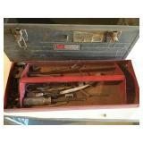 CRAFTSMAN tool box w/ Asst. tools & hardware