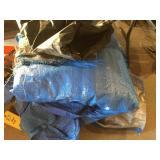 Asst. blue tarps