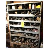 Misc. metal, hardware & shelf