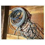 Misc. electrical wire, copper tubing & more